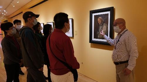石魯藝術精品展下周二(2日)最後 線上講座免費觀賞
