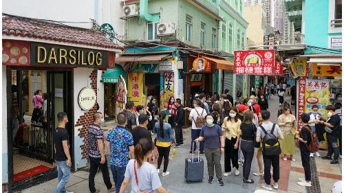澳門入境旅客量持續上升 昨錄逾3萬4千人次為單日新高