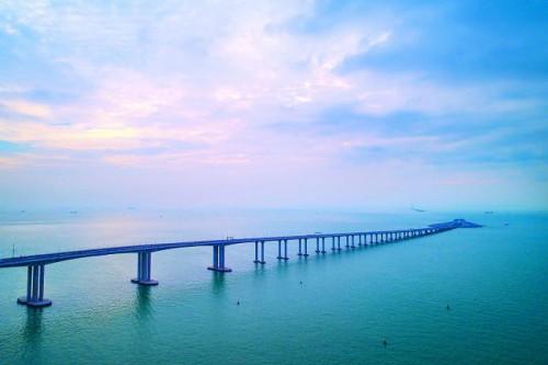 港珠澳橋橋樑航道恢復通航