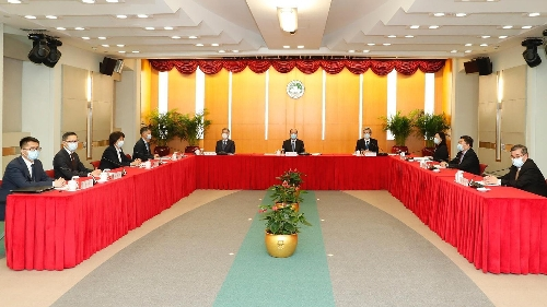 維護國家安全委員會召開本年度首次全體會議