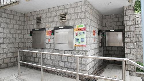 封閉式垃圾房自動投入口引入數據化和智慧化功能