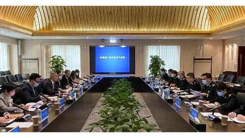 經科局聯同多部門赴京訪國家海關總署 商葡語國家食品及跨境電商產品便利通關