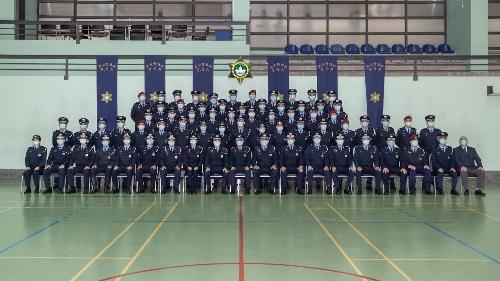 治安警察局昨日舉行副警長晉升儀式