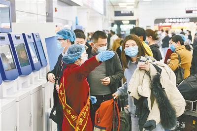 春運首日全國預計發送旅客1991萬人次