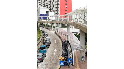 氹仔徐日昇寅公馬路行人路優化工程竣工