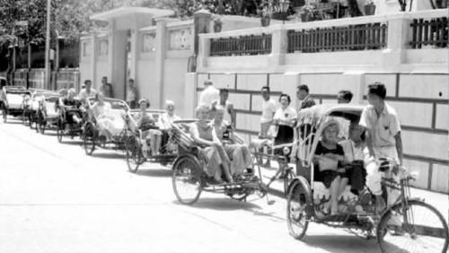 手車單車三輪車與大板車 人力公共交通工具零污染