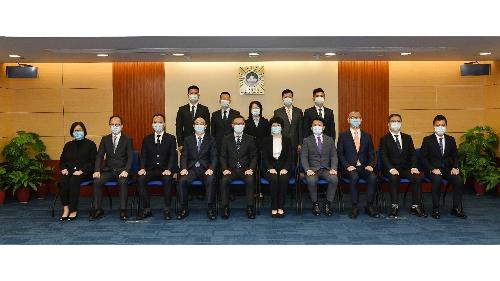 司法警察局7位新任主管宣誓就職