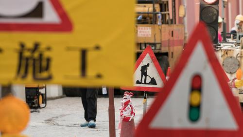 路氹城大馬路續實施臨時交通安排