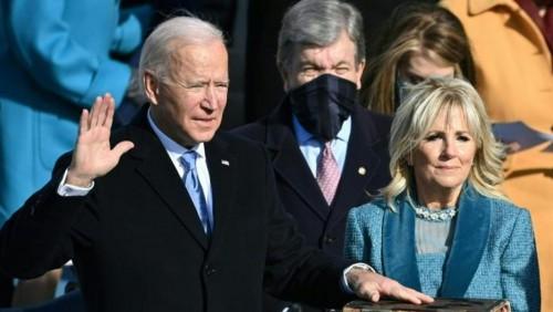 拜登宣誓就任美國總統