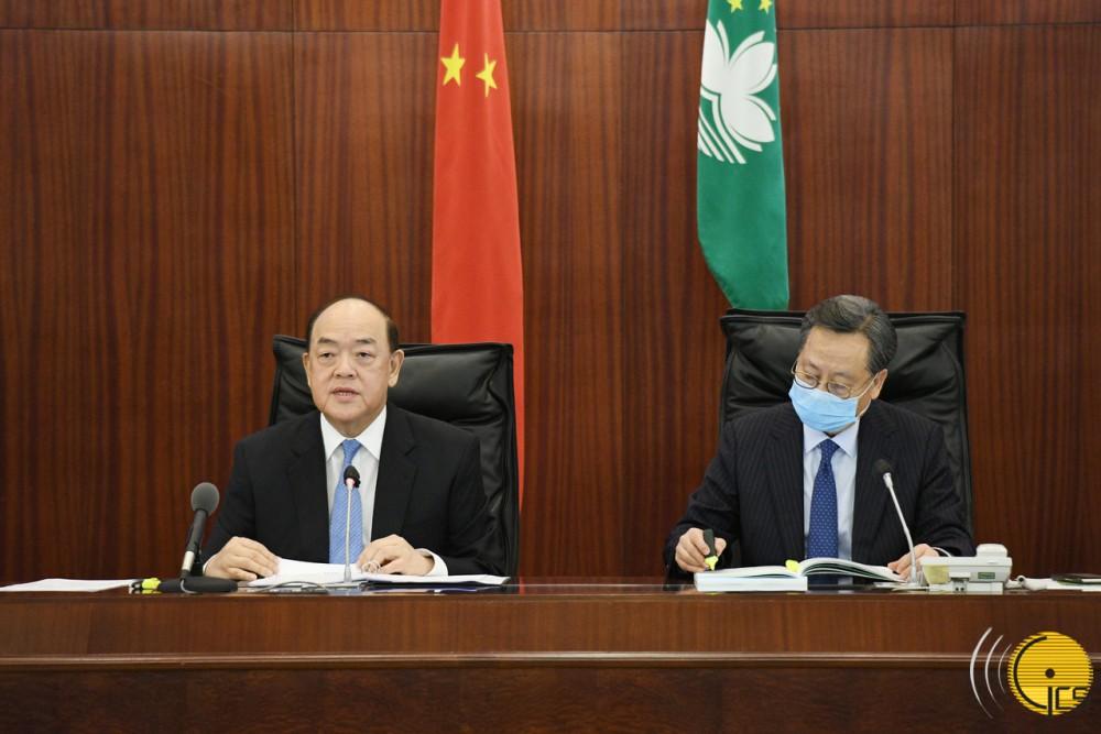 行政長官賀一誠發表《2021年財政年度施政報告》