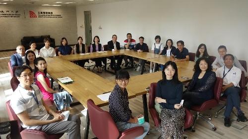 澳大工商管理學院成功舉辦首個業界交流會