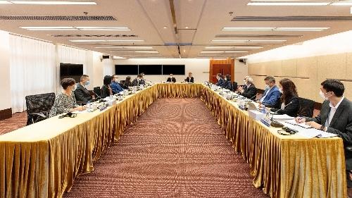 法律改革諮詢委員會昨舉行第三十一次全體會議