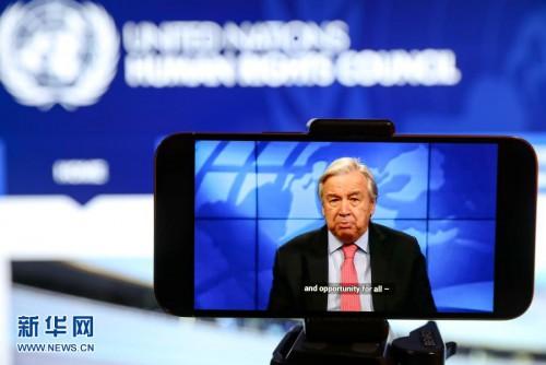 聯合國秘書長:縱容疫苗民族主義就是罔顧人權