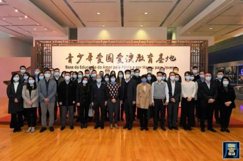 警察總局參觀青少年愛國愛澳教育基地